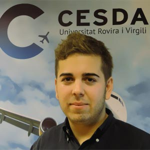 Francesc Cano, First Officer en Ryanair. CESDA
