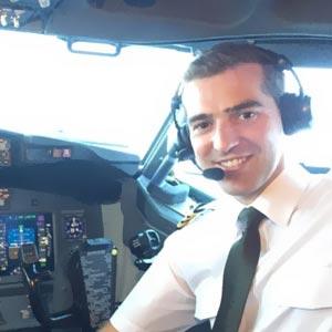 Miguel Pons, Comandante de A320 en Eurowings. CESDA